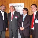 Luis Pichott, Fundacin Chile; Oscar Guillermo Garretn; Jos Miguel Burgos, Aquagestin y Hctor Bacigalupo, Sonapesca.